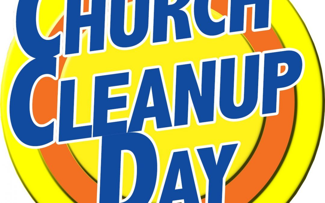 Thalia UMC's Church Clean-Up Day